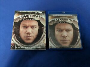 The Martian (3D/Blu-ray, 2015) with Slipcover - Mint Discs