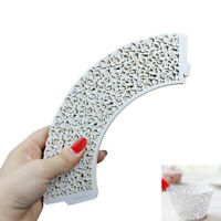 25pcs Cupcake Wrappers Cake Paper Cups Vine Lace Laser Cut Muffin Case Trays