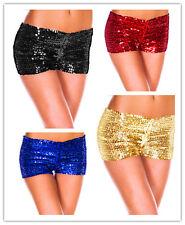 Sexy Women Shiny Sequin Hotpants Bling Bling Strentch Shorts Dancewear Clubwear