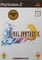 PS2 - Playstation ► Final Fantasy Spiel nach Wahl - X inkl. Bonus | X-2 | XII ◄