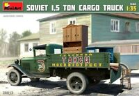 Miniart 1:35 Soviet 1.5 Ton Cargo Truck Model Kit