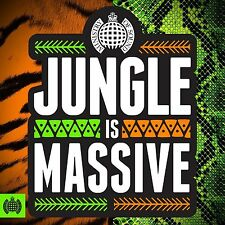 Ministry of Sound Jungle Is Massive 3cd Compilation 2017