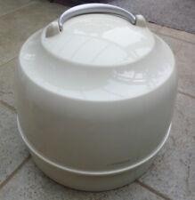 Vintage CARMEN COMPACT HOOD Tabletop Hair Dryer RETRO Portable Model 5109