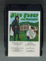 """RIGO TOVAR """"CON MARIACHI VOL 1"""" 1979 8 TRACK TAPES (LATIN MUSIC)"""