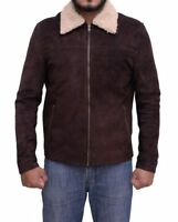 The Walking Dead Rick Grimes Season 7 Suede Jacket With Free Shipping