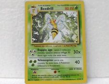 POKEMON set base unlimited - carta BEEDRILL - 17/102 ITALIANO-MINT/NEAR MINT