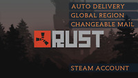 [AUTO-DELIVERY] Rust | Steam | PC | NOT A KEY | Region free | Email Change |