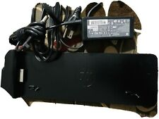 New listing Hp UltraSlim Dock 2013 Us Docking Station + 65W Ac Adapter D9Y32Ut D9Y32Aa#Aba