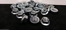 (25) M10-1.5 or 10mm x 1.5 Serrated Flange Lock Nut 10.9 Spin Wiz Nuts 25 Pcs