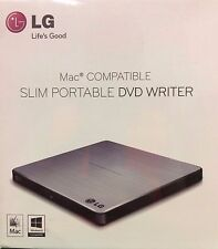 LG - GP60NS50 - Electronics 8X USB 2.0 Slim Portable DVD RW External Drive