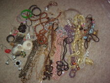 Job Lot Bundle Costume Jewellery Necklaces etc Some Broken & Wearable 1.6KG