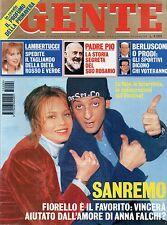 Gente 1995 9.Fiorello-Anna Falchi,Hunter Tylo-Kabir Bedi,Stephanie di Monaco