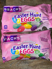 Brach's ~ Marshmallow Easter Hunt Eggs Candy 2-Bags 7 Oz. ~ Expires 08/2020