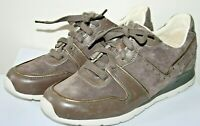 Treadlite by UGG Women's Brown Leather Suede Trainers Wool Size UK 6.5 EUR 39
