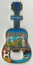 Flaschenöffner Bottle Opener Magnet Hard Rock Cafe Amsterdam V16 NEU