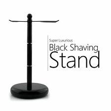 Stainless Steel Shaving Brush and Safety Razor's Stand Black Color |Gift for Men