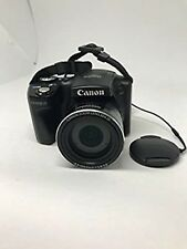 Canon digital camera PowerShot SX500IS optical 30 times zoom black PSSX USED