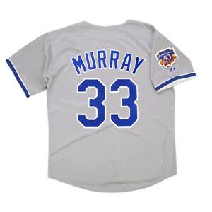Eddie Murray Los Angeles Dodgers Grey Road Jersey Men's Large