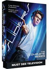 SLIDERS 1-5 (1995-2000): COMPLETE FIVE SciFi Seasons TV Series NEW BoxSet DVD R1