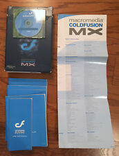 Macromedia Coldfusion MX Professional Edition Install Software CPD060D100 NLA!