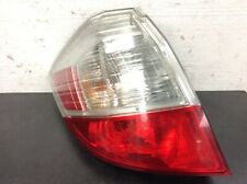 09-13 FIT 5Dr Left Rear Light Taillight Signal Turn Brake Lamp Lens Unit OEM