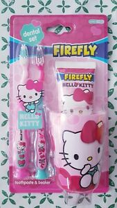 Hello Kitty children's Tooth Brush and Tooth paste set