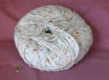 Large ball of Tweedy Les Fils Marnel yarn, acrylic & wool blend--755 yards/ball