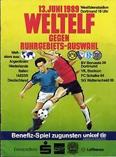 13.06.1989 UdSSR / Deutschland / Niederlande - Borussia Dortmund / Schalke 04