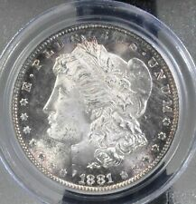 1881 S Morgan Dollar - PCGS MS66 colorful toning