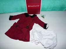 American Girl Doll Rebecca's Meet Outfit Dress Undies and Hair Barrette NEW!!