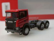 Herpa Scania CG 17 6x6 Zugmaschine, rot - 309752 - 1:87