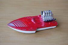 Matchbox Superfast Seafire Speedboat in Red Playworn Condition.(My Ref:C)#