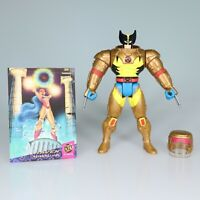 Space Wolverine Figure W/ Card X Men Pheonix Saga 1994 Toybiz Marvel 8th Edition