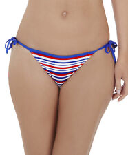 Lepel LE168672 Swimwear Sailor Tie Side Bikini Pant in Blue, Red, White