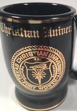 VINTAGE, Texas Christian University, Coffee Mug, W.C. Bunting Co. Dallas Texas