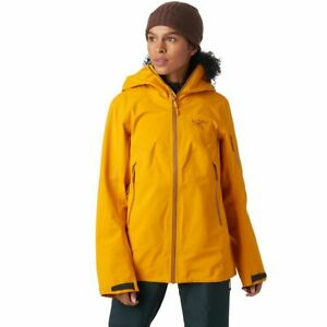 Arc'teryx Sentinel AR Jacket - Gore-Tex Ski - Quantum Yellow Gold Women's Small