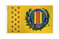 Vietnam War Veterans 3x5ft Poly Flag