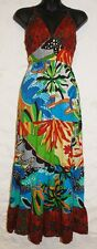 New Fair Trade Dress 10 12 Ethnic Boho Ethical Nepal Cotton Summer Beach