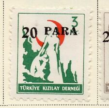 Turkey 1950-52 Early Issue Fine Mint Hinged 20p. Surcharged 085755