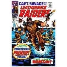 Captain Savage and His Leatherneck Raiders #1 in F minus. Marvel comics [*2g]