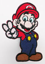 "MARIO ""SUPER MARIO BROTHERS"" Iron-On Embroidered Patch - MIX 'N' MATCH - #2U16"