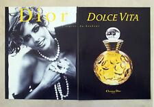 E683 - Advertising Pubblicità -1996- CHRISTIAN DIOR DOLCE VITA PROFUMO