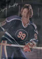 1980's Oilers Wayne Gretzky Small Pillow Cover - MINT!
