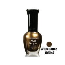 1 Kleancolor Nail Polish Lacquer #156 Coffee Addict Manicure