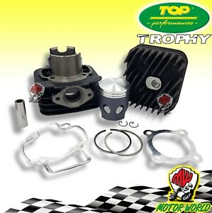 Thermal Unit Cylinder Top Black Trophy D.48 Piaggio Vespa ET2 50 2005