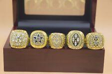 5pcs 1971 1977 1992 1993 1995 Dallas Cowboys Championship Ring !-/