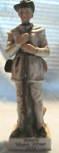 Morgan's Virginia Rifleman 1776 Porcelain Andrea of Sadek Soldier Figurine