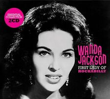 Wanda Jackson First Lady Of Rockabilly Essential Collection 2 CD Set