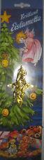 5 X Lametta Bleilametta Stanniol Gold Blei-Lametta, Eislametta Gold 10g=1,99€