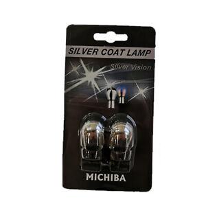 Michiba 582 Silver Coat T20 Capless Indicator Bulbs
